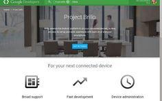 È arrivato da Google l'atteso annuncio del progetto Brillo, un sistema operativo per l'Internet delle Cose Google ha presentato il progetto Brillo, un sistema operativo derivato da Android per l'Internet delle Cose. Assieme ad esso è stato annunciato il protocollo di comunicazione Weave. #brillo #weave #google