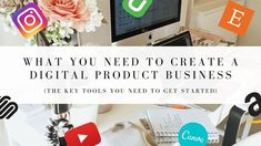 WHAT YOU NEED TO CREATE A DIGITAL PRODUCT BUSINESS | MAKE PASSIVE INCOME...