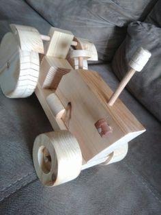 Wooden toy. By erdaltekin