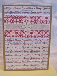 Christmas Card by Papier&Paper