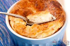 Receita de Suflê de bacalhau - Comida e Receitas