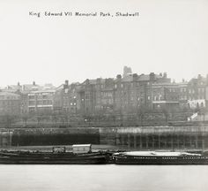 Shadwell Park - the pub and the slope  but sadly no trace of The Whitaker Trust Buildings on The Highway!  My poor father being born there after slum clearance from Spitalfields ended up with Whitaker as his middle name!  Not happy!!!!!.....