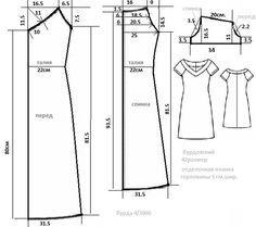 Mis puntadas preferidas: Moldes para vestidos sencillos