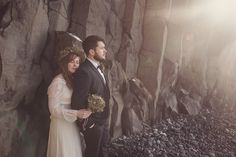 Stunning Iceland Elopement in our RM6325 Dress.