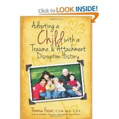 This booklet is a fact-filled resource for adoptive parents who have a child with trauma and attachment disruption experiences.
