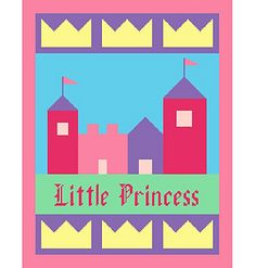 Hi! This is a graph to make a Princess Castle Afghan.