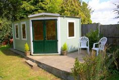 """A great review from David Olphin who purchased a Premium Radley Log Cabin.     BRILLIANT! Was gong to build my own shed, but visited a friend that had recently built one of your cabins. Decided to order a Radley Premium 4mx3m. I am 68 fairly good with DIY but, when I saw the no. of bits, I almost decided to have it built for me. However,  once I had read the instructions it all became clear (well almost) & I erected/built the """"shed"""" all on my own  No problems VERY pleased with result."""