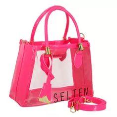 b7a540dfee Bolsa Feminina Lorena Selten Transparente Rosa - 4... - SELTENBRASIL