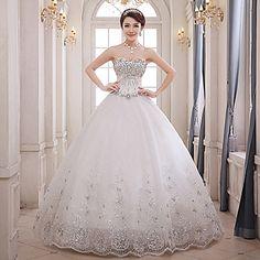 vestido de novia de encaje hasta los pies vestido de fiesta novia (xs04) – MXN $ 3,185.84