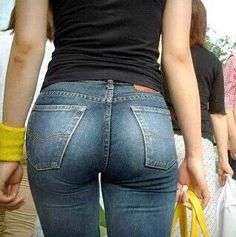 TIGHT ASS in TIGHT JEANS — #assinjeans #tightjeans #jeans
