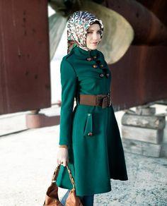Zühre Pardesü #Pardesu #Coat #Hijab