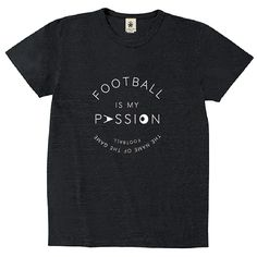 Football Is My Passion - sumikuro - デザインサッカーTシャツ|EVERYDAY FOOTBALL