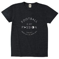 Football Is My Passion - sumikuro - デザインサッカーTシャツ|EVERYDAY FOOTBALL