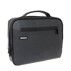 Damero Luxury Travel Electronics Organizer / Ipad Case / Camero Accessories Carry Bag, Black -  - http://buytrusts.com/giftsets/tablet-accessories/damero-luxury-travel-electronics-organizer-ipad-case-camero-accessories-carry-bag-black