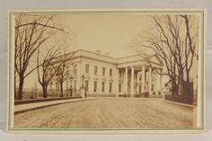 RARE 1860s Civil War Lincoln's White House CDV Photograph by G D Wakley   eBay