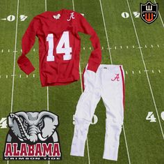Wes and Willy Alabama football pajamas