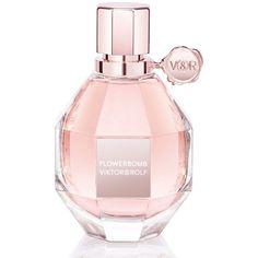 Viktor&Rolf Flowerbomb Eau de Parfum ($130) ❤ liked on Polyvore featuring beauty products, fragrance, perfume, beauty, makeup, parfum, apparel & accessories, no color, flower perfume and perfume fragrances