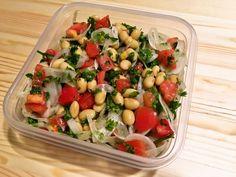 大豆とトマトのマリネサラダ #常備菜 #冷蔵1週間 #週末の作りおきレシピ
