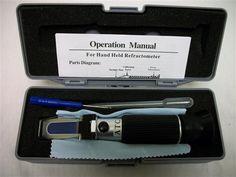 Refractometer - Sugar Refractometer 0-32% Brix