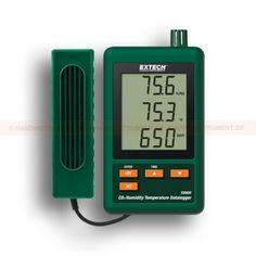 http://handinstrument.se/gasanalysator-testare-r312/datalogger-for-co2-temperatur-och-luftfuktighet-53-SD800-r321  Datalogger för CO2, temperatur och luftfuktighet  Kontrollerar koldioxid (CO 2) koncentrationer  Underhållsfri dubbel våglängd NDIR (icke-spridande infraröd) CO 2 givare  Triple LCD-skärm visar samtidigt CO 2, temperatur och relativ fuktighet  Mätområden: CO 2 - 0 till 4.000 ppm; Temperatur 0 till 50 °C (- 32 till 122 °F) ; Luftfuktighet - 10 till 90% RH  Datalogger...