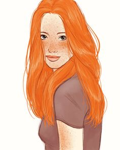 Ginny Weasley by Claire de Lune