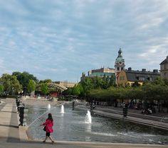 """Kungsträdgården (Swedish for """"King's Garden"""") in Stockholm Sweden"""