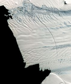 It's the second break from Pine Island Glacier in the last 2 years.