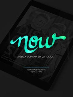 Manual de marca e identidade visual da Revista Now, projeto para o Trabalho de Diplomação de Design Gráfico da UTFPR.