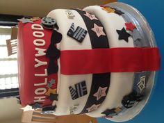 Hollywood themed cake!