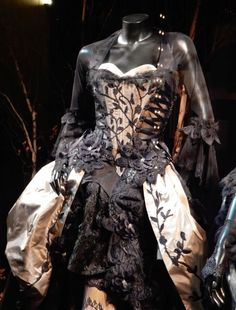 Into the Woods Stepsister Lucinda gown detail