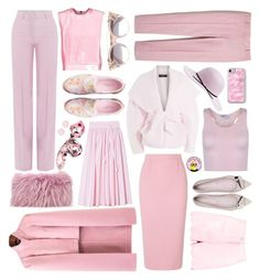 """Pastel pink"" by juju0000 ❤ liked on Polyvore featuring J.Crew, Paul & Joe, Balmain, Mr & Mrs Italy, Roland Mouret, Kate Spade, Pierre Balmain, Ted Baker, Boohoo and Jimmy Choo"