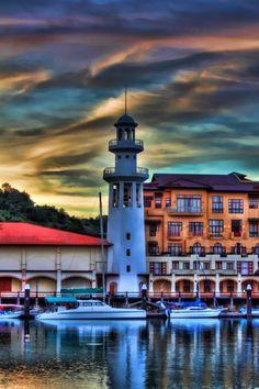 Temoyong Lighthouse, Kedah, Malaysia-by Jim Boud