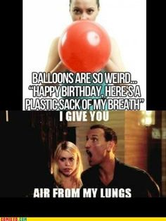 Obviously the Doctor pulled this in the past, and that's how balloons came about.