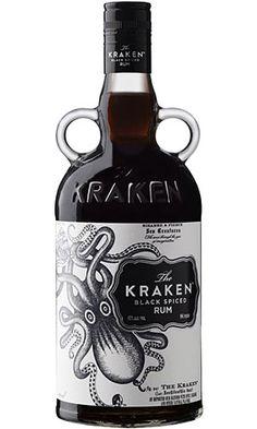 Ron de Las Islas Vírgenes, envejecido en barricas de roble entre 12 a 14 meses, se presenta mezclado con trece especias exóticas -entre las que destacan la canela, el jengibre y el clavo- que componen su receta secreta. El diseño de la botella que contiene este ron es una réplica de las botellas de ron victorianas, con dos asas laterales y en color negro oscuro –inspirado en el negro de la tinta misteriosa con la que, según la leyenda, El Kraken cubre a su presa.