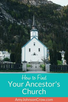 Church records are valuable for #genealogy. Here's how to find your ancestor's church. #familyhistory #ancestry #churches via @amyjohnsoncrow