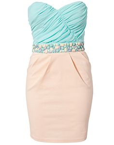 If I lived by a beach I would wear this out at night in the summer with a tan on and lots of bracelets :)