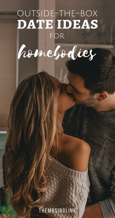 Outside-The-Box Date Ideas For Homebodies | Date Night Ideas | #dateideas #couples | At home date ideas | The perfect date night at home | Creative date ideas for the homebody couple | theMRSingLink