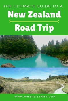 South Island New Zealand Road Trip – Ultimate Travel Guide. EVERYTHING YOU NEED TO KNOW. #Wanderlust