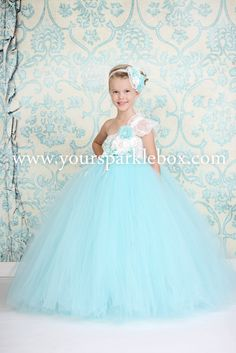 Tiifany Blue and Aqua Tutu Dress