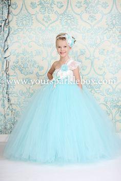 Tiifany Blue and Aqua Tutu Dress