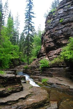 Devils Bathtub a great hike in South Dakota's Spearfish Canyon.  Been here beautiful