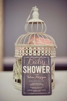 Tiny Prints Baby Shower Invitations that inspired the cutest shower!