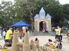 Sandcastles at East Coast Park-Singapore,Activities at Castle Beach ,Singapore East Coast Park,Making sandcastles at Castle Beach East Coast Park-Singapore East Coast, New Moms, Singapore, Paradise, Park, Beach, Travel, Viajes, Seaside