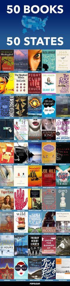 50 books, 50 states