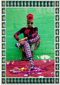 Meet the Andy Warhol of our generation! Hassan Hajjaj combines pop iconography, fashion photography and political commentary for stunning works!