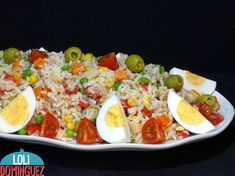 Vegetarian Recipes, Healthy Recipes, Churros, Healthy Salads, Fried Rice, Cobb Salad, Risotto, Salad Recipes, Food And Drink