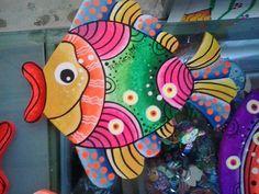 pintura de peces moderna - Buscar con Google