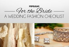 POPSUGAR Wedding Roundup: Dresses, Rings, and DIYs For Your Big Day: Wedding season has officially begun, and we're rounding up all the tips, tricks, and ideas you need for your big day.