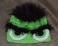 Custom ordered Incredible Hulk hat.