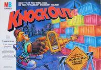 Knockout Board Game Milton Bradley